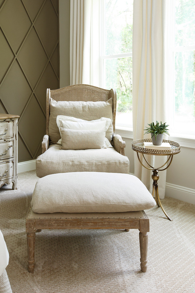 Bedroom Chair. Bedroom Chair Neutral Bedroom Chair from Restoration Hardware. #BedroomChair Bedroom Chairbedroom-chair Cottage Home Company