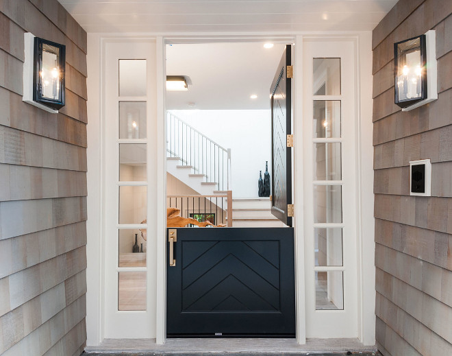 Dutch Door Paint Color is Benjamin Moore Hale Navy. benjamin-moore-hale-navy-dutch-door-paint-color Matt Morris Development