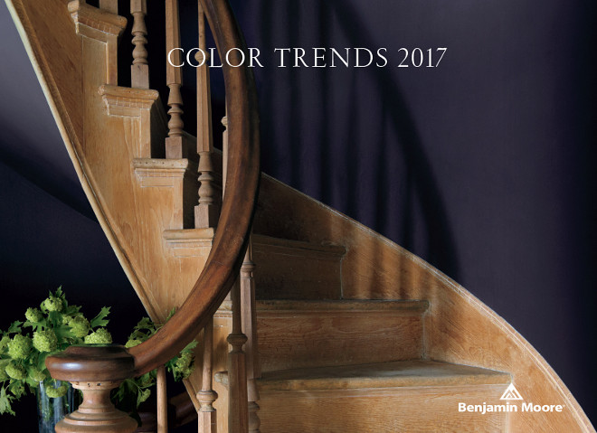 Benjamin Moore Shadow 2117-30. Color of the Year 2017. Benjamin Moore, one the most beloved paint brands and often chosen by the best interior designers, just announced their 2017 color of the year - Benjamin Moore Shadow 2117-30. The new Benjamin Moore Color of the Year 2017, BM Shadow 2117-30, is rich, intense and as Benjamin Moore describes it: allusive and enigmatic. Benjamin Moore Shadow 2117-30. Color of the Year 2017. #BenjaminMooreShadow #BenjaminMooreShadow2117-30 #BenjaminMooreColoroftheYear2017 Via Home Bunch