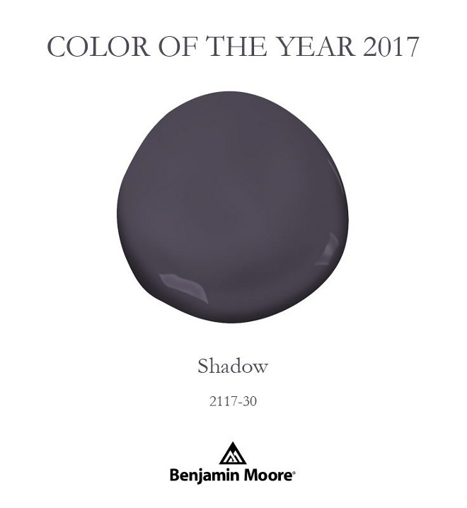 2017 benjamin moore color of the year shadow 2117 30