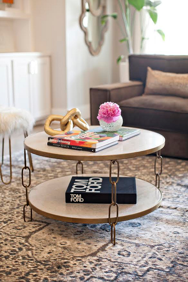 "Coffee table. Coffee table furniture ideas. ""Belvery Coffee Table"" is from Erdos at Home. coffee-table #coffeetable # BelveryCoffeeTable #ErdosatHome Ivy House Interiors"