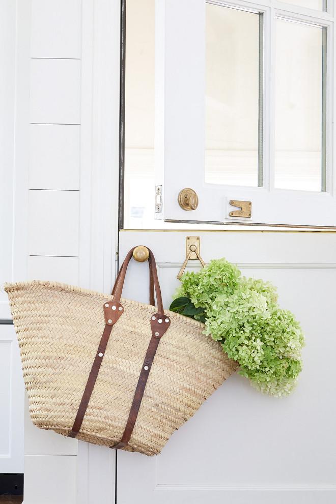 Dutch Door. White Dutch Door. Dutch Door. White Dutch Door dutch-door-white-dutch-door #DutchDoor #WhiteDutchDoor Sarah Bartholomew Design