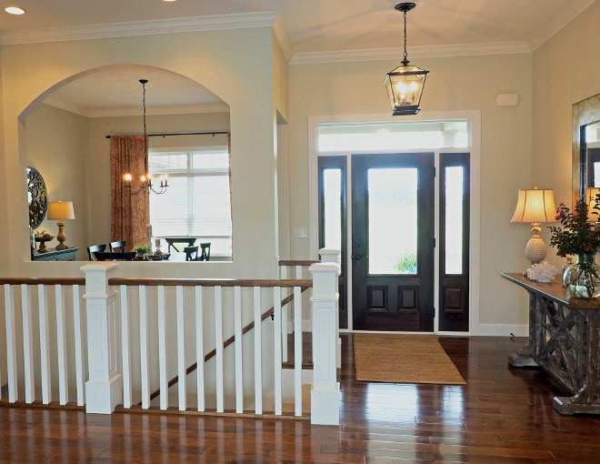 Ceiling Height. Foyer, main hallway, formal dining room and living room have 11' ceiling height. #ceilingheight #11feetceilingheight Home Bunch Beautiful Homes of Instagram wowilovethat