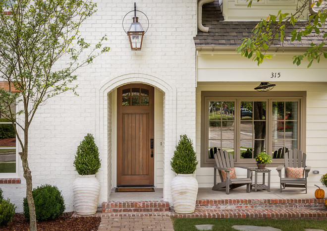 Front entry. Brick exterior front door. front porch and front door. front-door #entry #frontdoor #dor #entru #porch Willow Homes