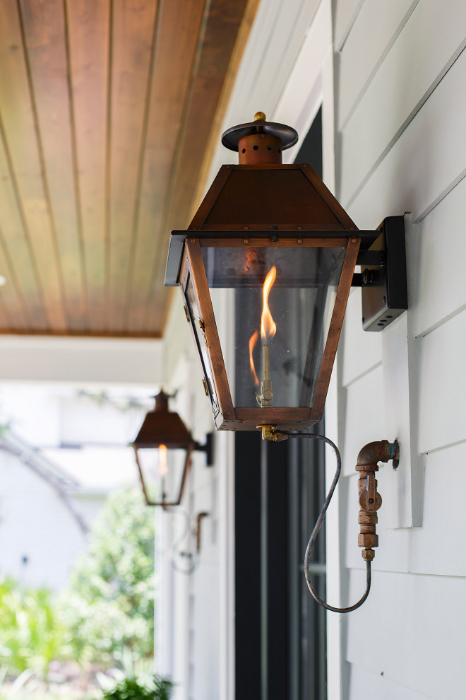 Gas lantern. Gas lantern. Front porch Gas lantern #Gaslantern #porch gas-lantern Cottage Home Company