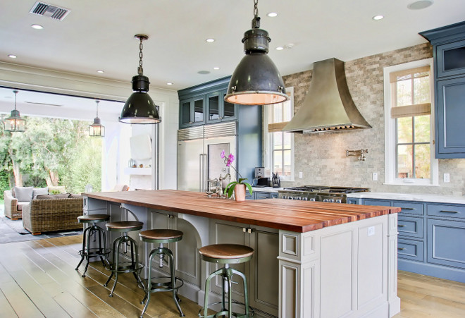 Category Paint Color Palette Home Bunch Interior Design Ideas - Light grey kitchen cabinets with wood countertops