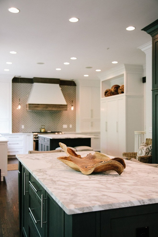 Kitchen island dimension. Island Dimensions: 88 x 41 The island countertop is Marble Calcutta Vagli. Outrageous Interiors