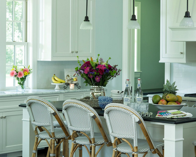 Kitchen. Kitchen stools. Kitchen Bistro stools. #kitchenstools #bistrostools Hendel Homes