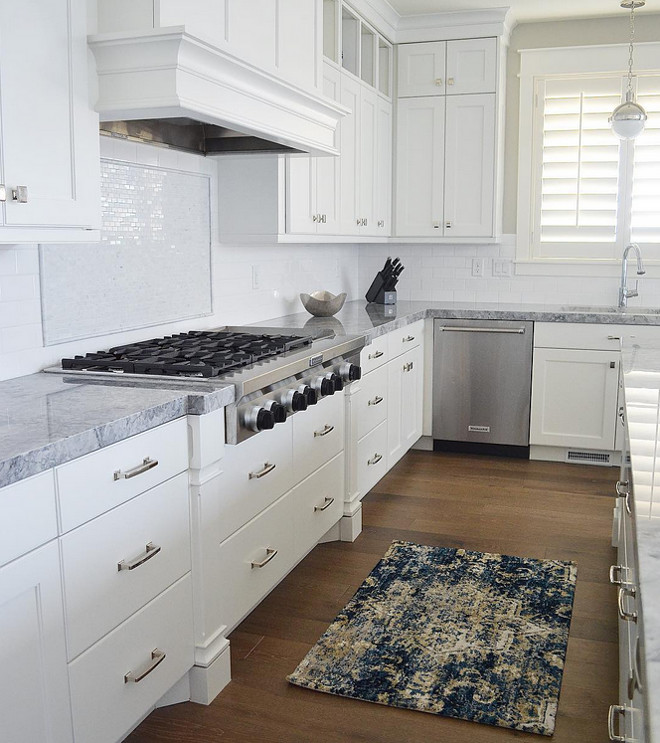 Kitchen . The countertops are Super White Quartzite and the cabinets are painted Benjamin Moore White Cloud. Kitchen #kitchen #countertops #Supe WhiteQuartzite #cabinets #painted #BenjaminMooreWhiteCloud kitchen-the-countertops-are-super-white-quartzite-and-the-cabinets-are-painted-benjamin-moore-white-cloud-kitchen-kitchen-countertops-supe-whitequartzite-cabinets-painted-benjaminmoorewhitecloud Sita Montgomery Interiors via Instagram