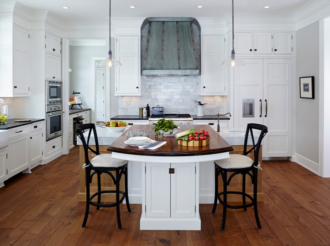 Kitchen. Crisp white Kitchen. #Kitchen #Crispwhitekicthen #zinchood #barnlight kitchen Hendel Homes