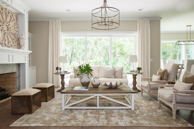 Neutral Living room. Neutral Living room. Stunning Neutral Living room. #NeutralLivingroom neutral-living-room Cottage Home Company