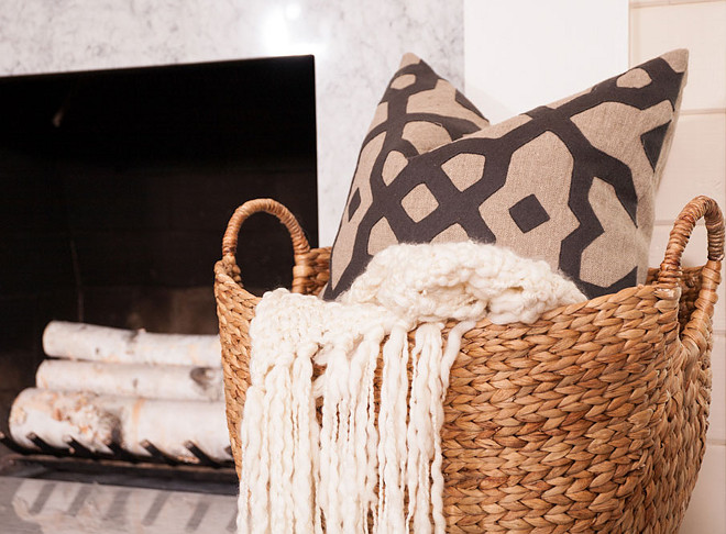 Rattan Basket with Throw by Fireplace. Easy Home Decorating ideas. Rattan Basket with Throw by Fireplace. Easy Home Decorating ideas #RattanBasket #Throw #Fireplace #EasyHomeDecoratingideas rattan-basket-with-throw-by-fireplace-easy-home-decorating-ideas J & J Design Group, LLC
