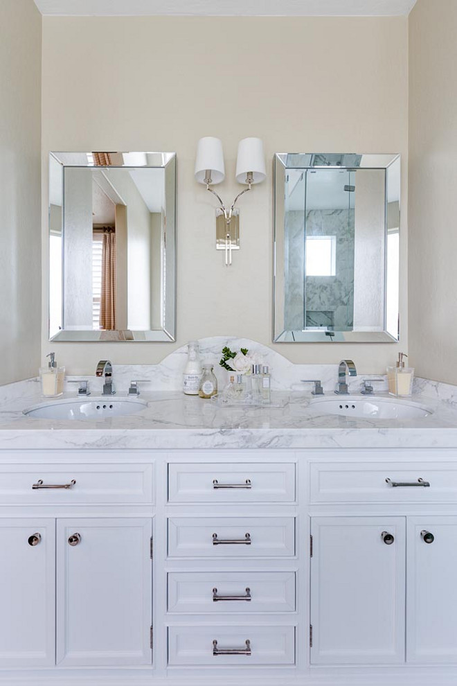 Small Bathroom Vanity with Two Sinks. Small Bathroom Vanity with Two Sinks #SmallBathroom #VanitywithTwoSinks small-bathroom-vanity-with-two-sinks J & J Design Group, LLC
