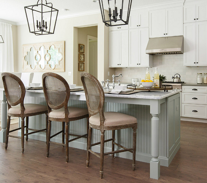 Sherwin Williams Silvermist SW7621. Soft Gray Kitchen Island paint color is Sherwin Williams Silvermist SW7621. Soft Gray Kitchen Island paint color. Sherwin Williams Silvermist SW7621.Soft Gray Kitchen Island ideas #SoftGray #KitchenIsland #kitchen #island soft-gray-kitchen-island #SherwinWilliamsSilvermistSW7621 #SherwinWilliamsSilvermist #SherwinWilliamsSW7621 Cottage Home Company