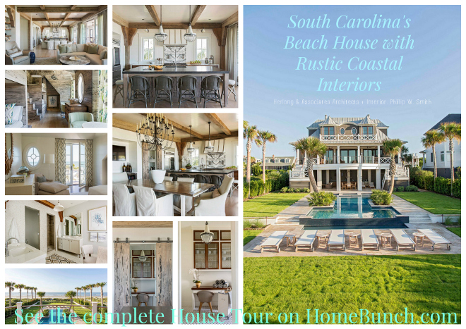 South Carolina's Beach House with Rustic Coastal Interiors. south-carolinas-beach-house-with-rustic-coastal-interiors