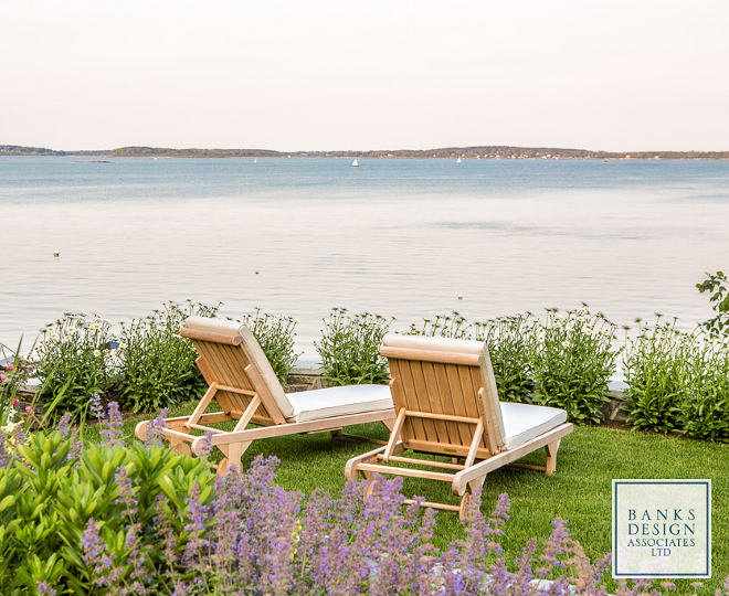 Beach house garden. Beach house gardens. Beach house garden ideas. Outdoor furniture is Kingsley Bate.  #Beachhouse #garden  Banks Design Associates, LTD & Simply Home