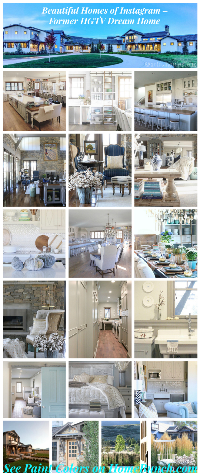 Beautiful Homes Of Instagram Former Hgtv Dream Home