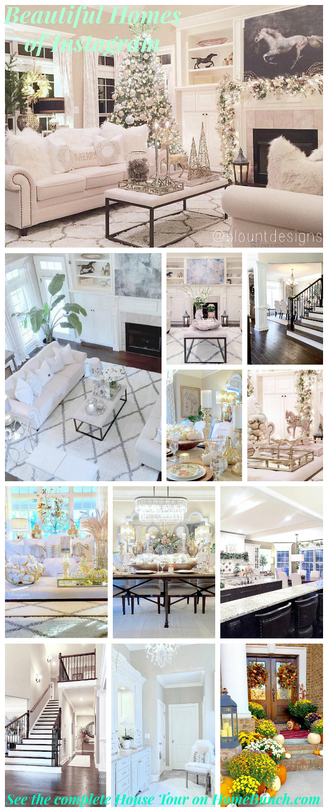 Beautiful Homes of Instagram. #BeautifulHomes #Instagram beautiful-homes-of-instagram