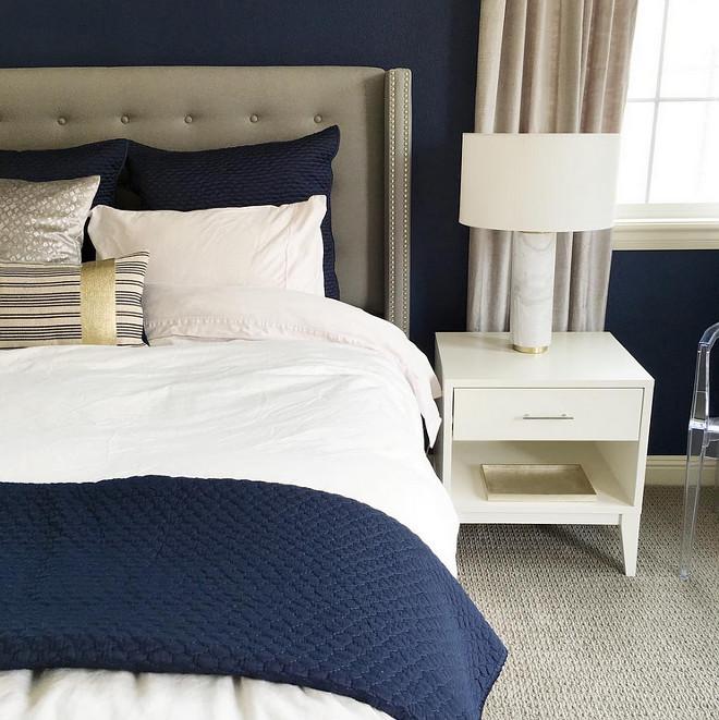 Behr Comp Blue Navy Paint Color