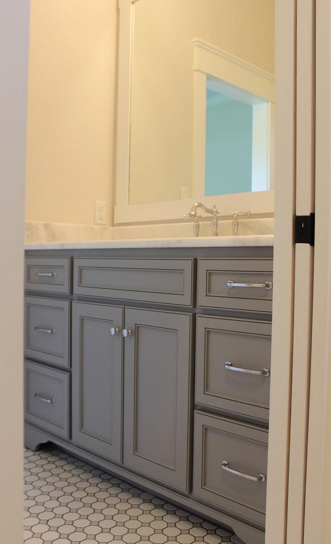 Behr Gateway Grey Cabinet Paint Color