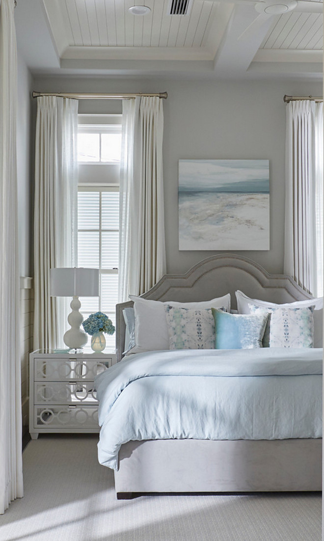 Florida beach house with new coastal design ideas home for Stonington grey benjamin moore