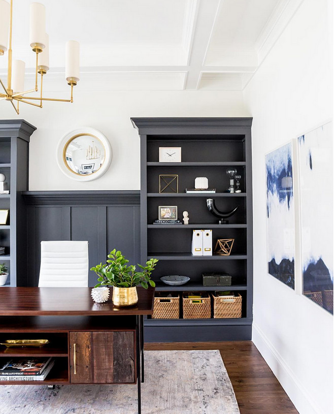 Cheating Heart 1617 by Benjamin Moore. Cheating Heart 1617 by Benjamin Moore Paint Color. Cheating Heart 1617 by Benjamin Moore #CheatingHeart1617BenjaminMoore #CheatingHeartBenjaminMoore cheating-heart-1617-by-benjamin-moore-grey-navy-paint-color Studio McGee