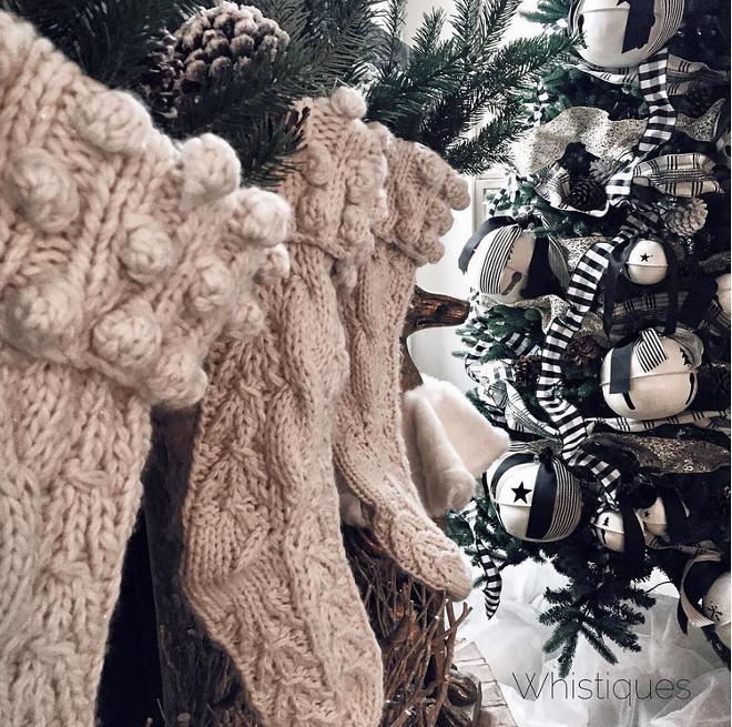 Crochet Christmas Stockings. Neutral Crochet Christmas Stockings. Crochet Christmas Stockings. #CrochetChristmasStockings #CrochetChristmasStockingsIdeas #NeutralCrochetChristmasStockings Whistiques Design via Instagram @whistiques