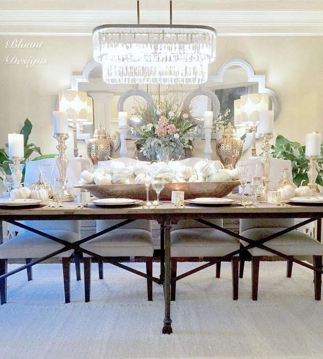 Thanskgiving Decor. Dining room Thanskgiving Decor. Dining room Thanskgiving Decor ideas. Dining room Thanskgiving Decor. #Diningroom #ThanskgivingDecor #DiningroomThanskgivingDecor dining-room Home Bunch Beautiful Homes of Instagram @blountdesigns