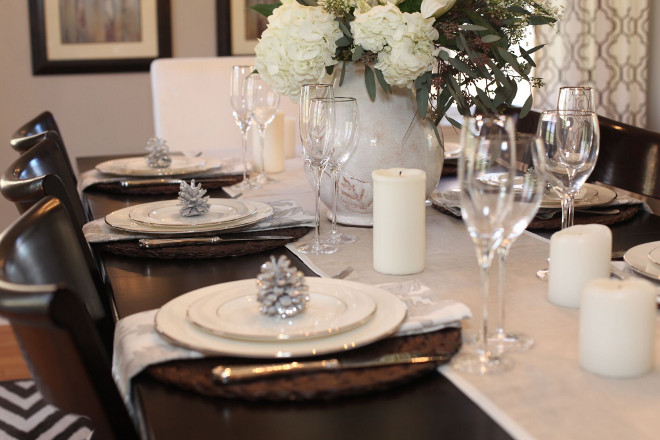 Tablescape. China, Flatware, Glassware: Lenox #Tablescape Home Bunch's Beautiful Homes of Instagram peonypartydesigns