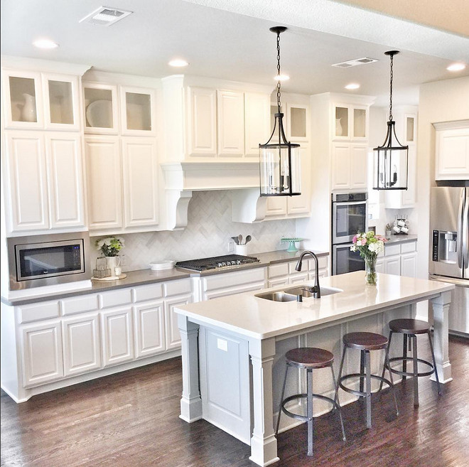 Kitchen island dimensions. Island size 8 feet by 3 1/2 feet. Island size 8 feet by 3 1/2 feet. Island size 8 feet by 3 1/2 feet. #Islandsize 8 feet by 3 1/2 feet Beautiful Homes of Instagram ceshome6