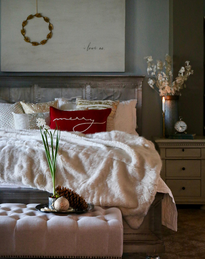 Elegant Christmas Bedroom Decor. Elegant Christmas Bedroom Decor Ideas.  Elegant Christmas Bedroom Decorating Ideas