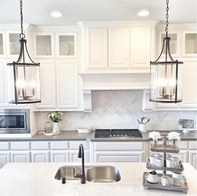 Kitchen Lighting. Kitchen island Lighting is Joss & Main Abigail Pendants. #KitchenLighting #Kitchen #Lighting #islandlighting
