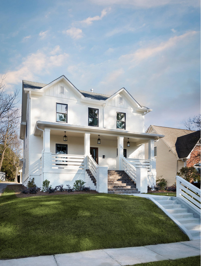 Natural Choice SW 7011 by Sherwin Williams. Natural Choice SW 7011 by Sherwin Williams. The exterior paint color of this white farmhouse is Natural Choice SW 7011 by Sherwin Williams. White farmhouse paint color. #whitefarmhousepaintcolor #paintcolor #whitefarmhouse #farmhouseexterior #exterior #paintcolor #NaturalChoiceSW7011SherwinWilliams natural-choice-by-sherman-williams-7011 Willow Homes