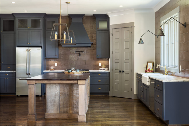 Benjamin Moore Raccoon Fur. Benjamin Moore Raccoon Fur. Benjamin Moore Raccoon Fur. Benjamin Moore Raccoon Fur #BenjaminMooreRaccoonFur navy-kitchen-cabinet Willow Homes