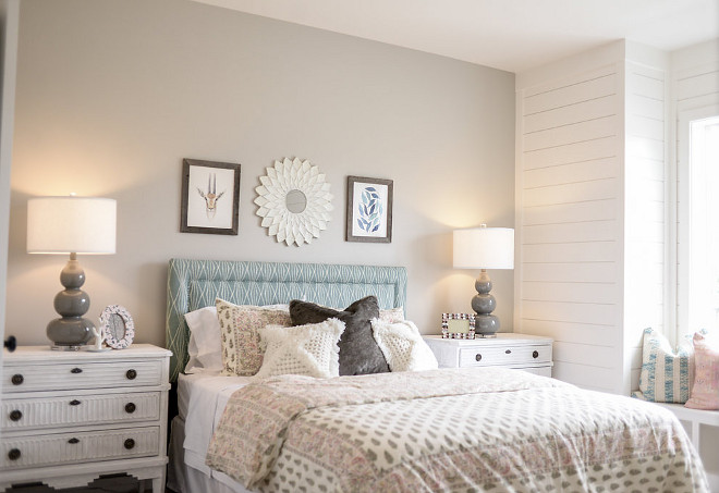 Paint color is Agreeable Gray SW7029 by Sherwin Williams. Millhaven Homes