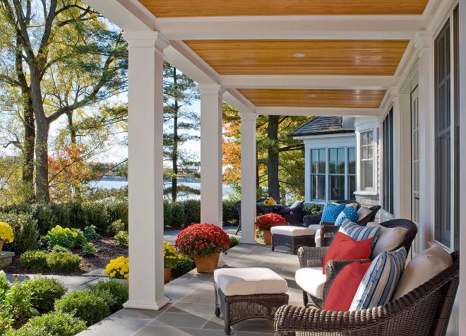 Porch. Summer Porch Ideas. Porch. Summer Porch Furniture #Porch #SummerPorch Siemasko + Verbridge porch-summer-porch