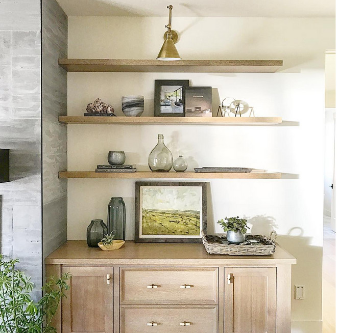 Rift sawn oak cabinets and Rift sawn oak floating shelves. Rift sawn oak cabinets and Rift sawn oak floating shelves #Riftsawnoak #Riftsawnoakcabinets #Riftsaw #Riftsawnoakfloatingshelves #floatingshelves rift-sawn-oak-cabinets-and-rift-sawn-oak-floating-shelves Caitlin Creer Interiors