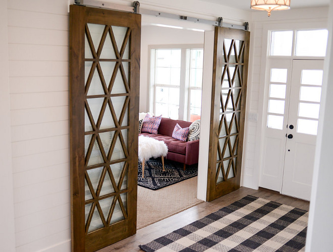 Sliding barn doors. Sliding barn door with inlay. Sliding barn door. Sliding barn door #Slidingbarndoor #Slidingbarndoor #barndoor sliding-barn-door-with-inlay Millhaven Homes