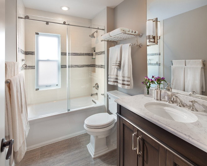 Small Bathroom Renovation. One of the most important part of the house is undoubtedly the bath. If you're unable to create a new bathroom, try investing in the bathrooms you already have. Apply a fresh coat of paint, new tiles and new countertop. Updating the bathroom is essential when you're trying to get the best price for your house. Small Bathroom Renovation Ideas. #SmallBathroomRenovation #BathroomRenovation #Bathroom #Renovation Anthony Wilder.