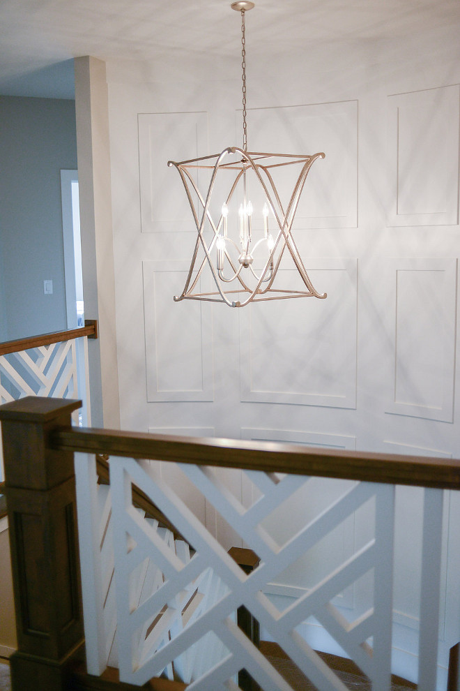 Staircase Lighting. Staircase lighting is Lighting is Capital Lighting Donny Osmond Alexander Collection 6-light Winter Gold Foyer Fixture/ Chandelier by Donny Osmond Home. #staircase #lighting