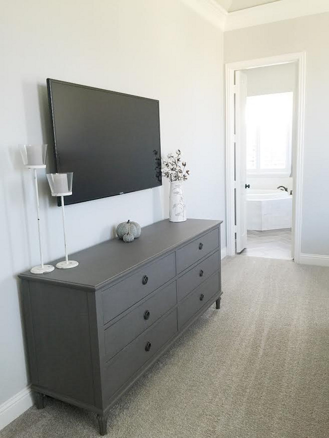 Grey Restoration Hardware Dresser. Beautiful Homes of Instagram ceshome6