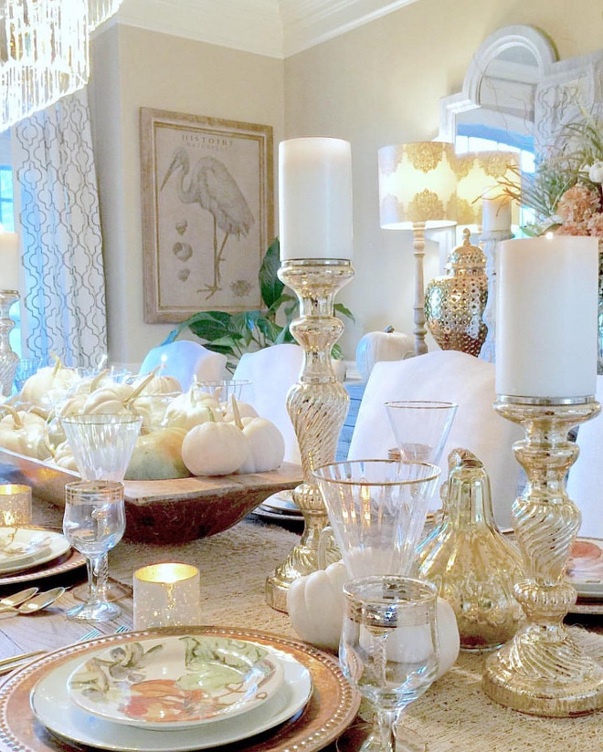Thanksgiving White and Gold Decor. Thanksgiving White and Gold Decor ideas. Thanksgiving White and Gold Decor #ThanksgivingWhiteandGoldDecor thanksgiving-white-and-gold-decor Home Bunch Beautiful Homes of Instagram @blountdesigns