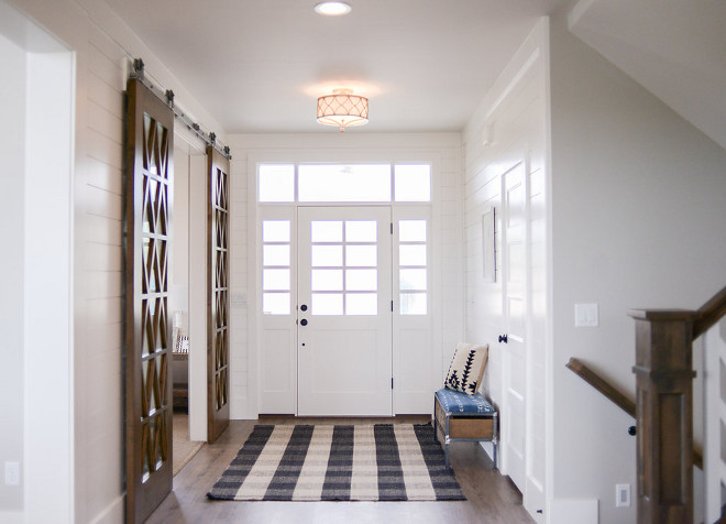 Foyer Semi Flush Light. Capital Lighting Fixture Company Fifth Avenue Winter Gold Three-Light Semi-Flush. Lighting. #lighting #SemiFlush #SemiFlushlighting #FoyerSemiFlush Millhaven Homes