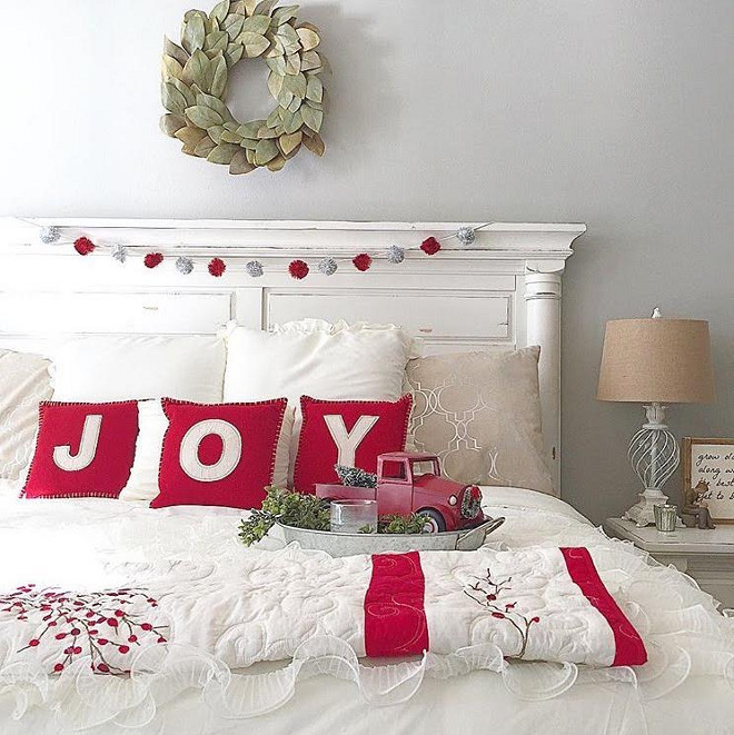 Bedroom Christmas Decorating Ideas new 2016 christmas decorating ideas - home bunch – interior design