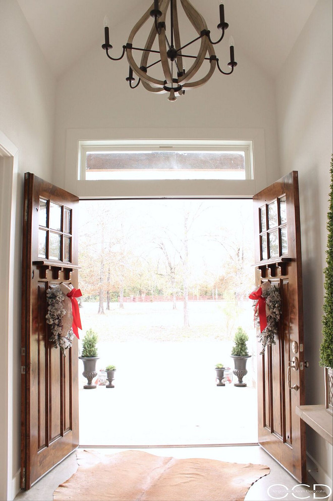 Double Door Foyer. Double Door Foyer Ideas. Double Door Foyer Design. Double Door Foyer. Double Door Foyer <Double Door Foyer> #DoubleDoorFoyer #DoubleDoorFoyerIdeas #DoubleDoors Beautiful Homes of Instagram organizecleandecorate