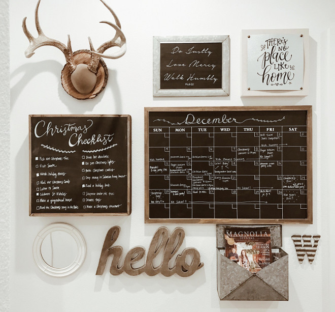 Farmhouse Mudroom Chalkboard Calendar. Farmhouse Mudroom Chalkboard Calendar Ideas. Farmhouse Mudroom Chalkboard Calendar. Farmhouse Mudroom Chalkboard Calendar #FarmhouseInteriors #Farmhouse #FarmhouseMudroom #Farmhouse #Mudroom #Chalkboard #Calendar #ChalkboardCalendar Instagram Beautiful Homes of Instagram @NC_HomeDesign