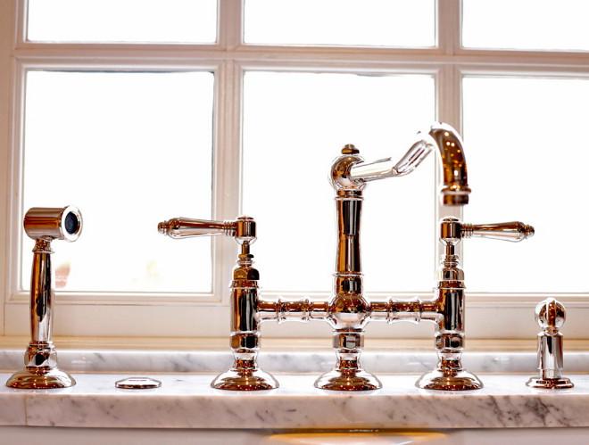 Kitchen Faucet Ferguson Faucet by Rohl. #KitchenFaucet Kitchen Kraft.