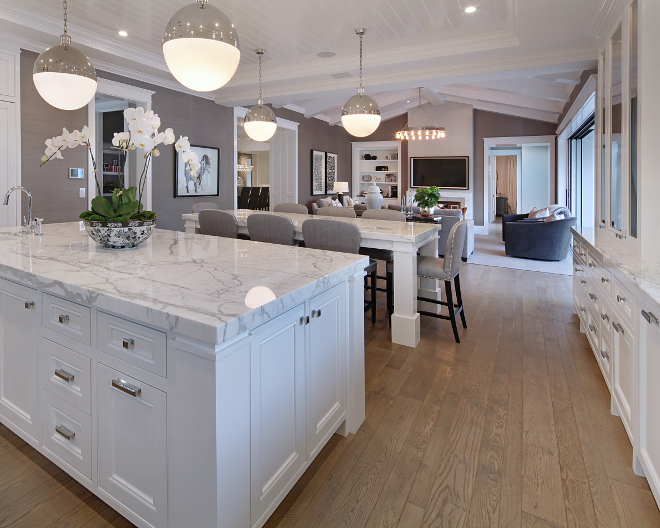 Hardwood floors. Kitchen hardwood floors. Flooring is White oak with a custom grey stain. #kitchenhardwoodfloor #kitchenhardwoodfloors #kitchenhardwoodflooring #kitchen #hardwoodfloor