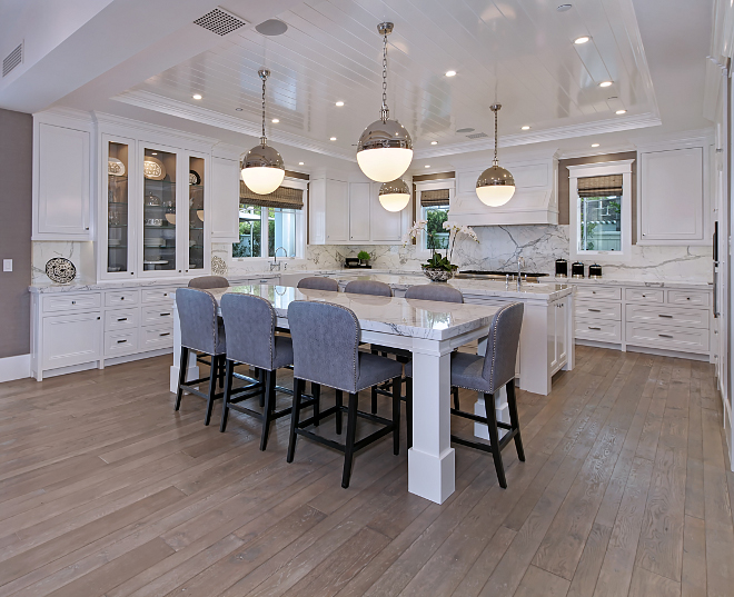 Kitchen double islands. Kitchen double islands. Double Island Kitchen design ideas and photos. The largest collection of interior design and decorating ideas on the Internet, including kitchen with double islands. Brandon Architects, Inc