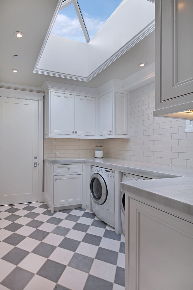 Laundry room skylight. A skylight makes this laundry room feel so bright and even more spacious. Laundry room skylight ideas. Laundry room skylight. Laundry room skylight #Laundryroomskylight #Laundryroom #skylight Brandon Architects, Inc